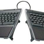 Kinesis Freestyle2 Ergonomic Keyboard w/ VIP3 Lifters for PC