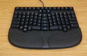 The Best Ergonomic Keyboard in the World - Truly Ergonomic Keyboard with palm rest