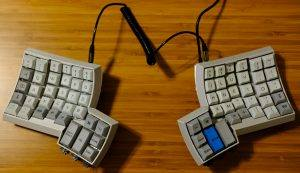 dactyl keyboard finished