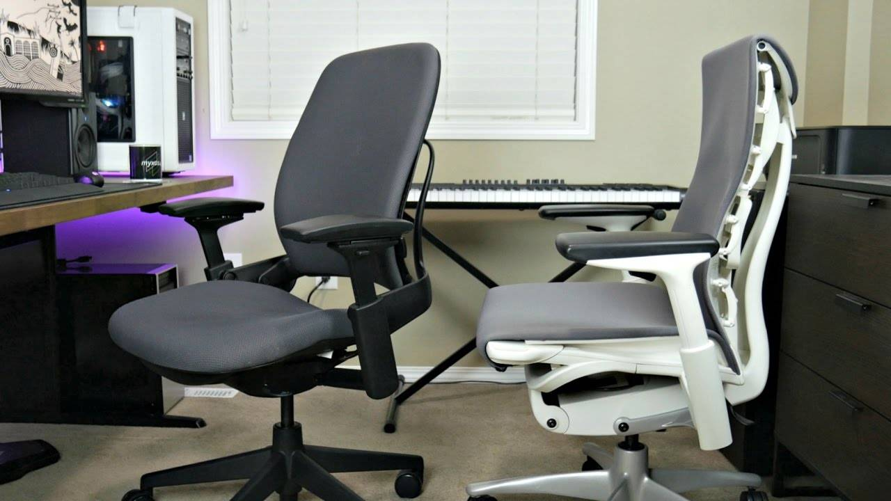 Steelcase leap v2 ergonomic chair vs herman miller embody - Steelcase leap ergonomic office chair ...
