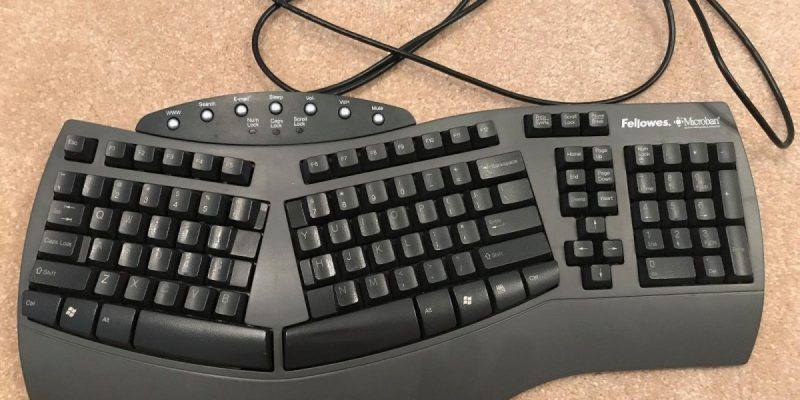 fellowes microban split ergonomic wired keyboard review all things ergonomic. Black Bedroom Furniture Sets. Home Design Ideas
