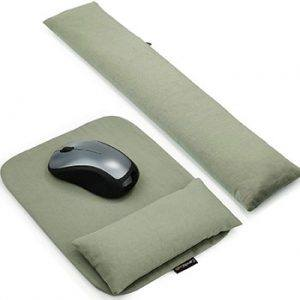 Mouse Pad Wrist Support With Ergobeads - Best Adjustable Option