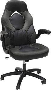 OFM Essentials Racing Style Bonded Style Leather Gaming Chair