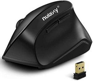Nulaxy Wireless Vertical Ergonomic Mouse - Best First Vertical Mouse